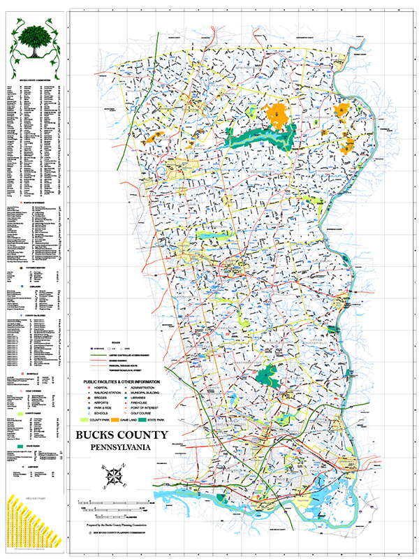BCEDC Map 2011 Back CountyRoadMap